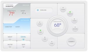 Wifi Enabled Thermostat Interface_Web