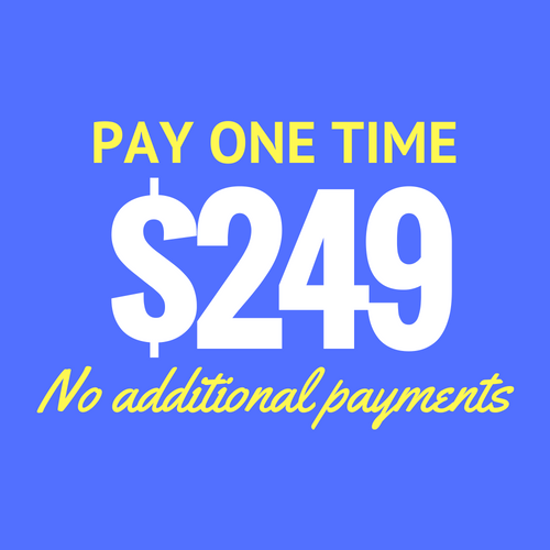 Pay one time 2