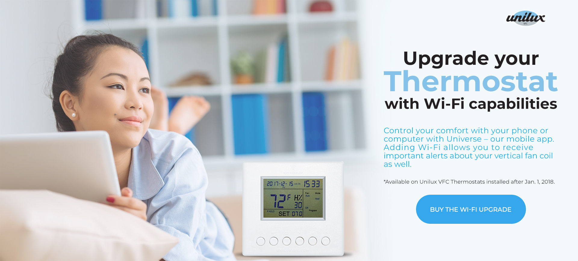 Upgrade Your Thermostat with Wifi Capabilities