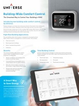 Building Wide Comfort Control Sell Sheet