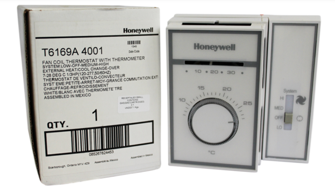 EXTERNAL CHANGEOVER MECHANICAL THERMOSTAT - 120V