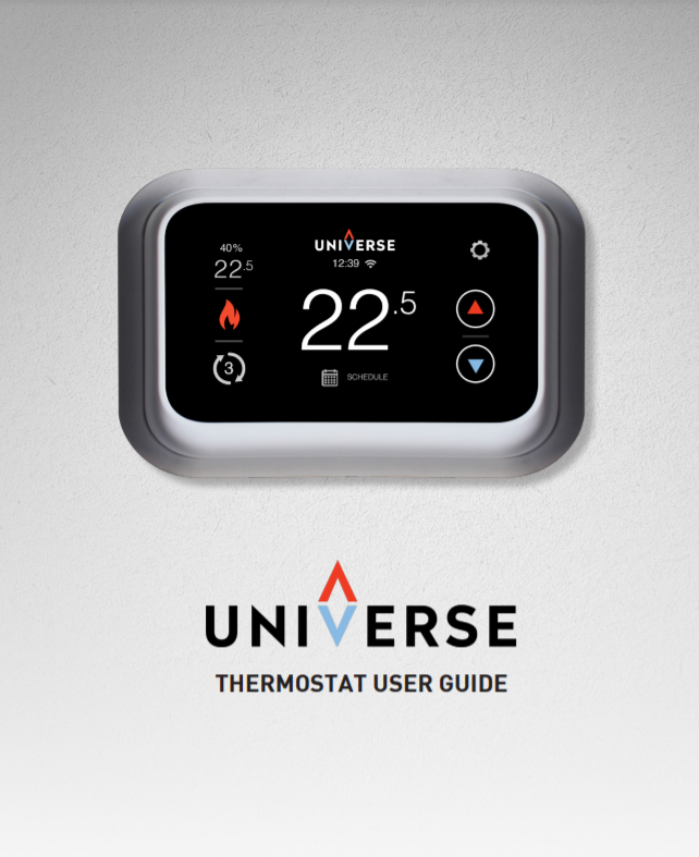 Universe Thermostat User Guide - Thumb